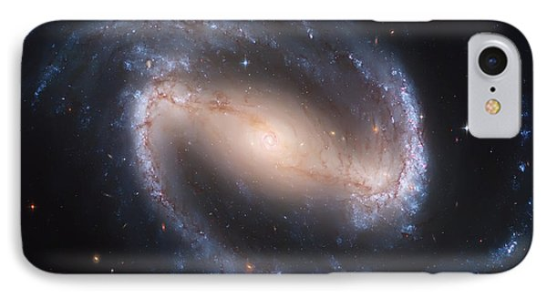 Into The Eye Of A Spiral Galaxy IPhone Case by Jennifer Rondinelli Reilly - Fine Art Photography