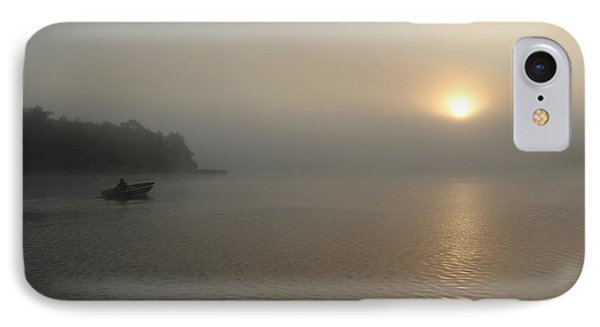 Into The Fog  IPhone Case by Debbie Oppermann