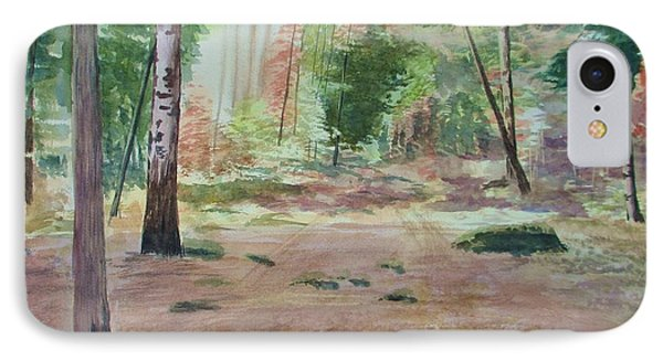 Into The Forest IPhone Case by Martin Howard