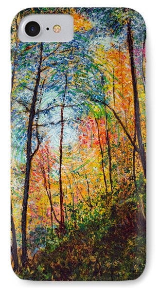 Into The Forest IPhone Case by Ron Richard Baviello