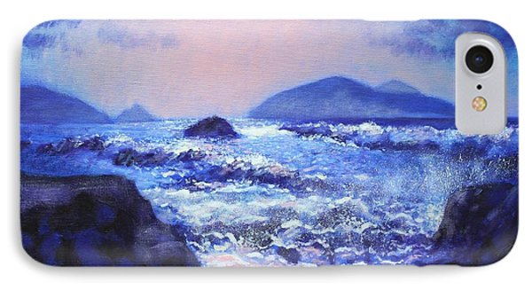 Into The Light The Blasket Islands  IPhone Case by John  Nolan