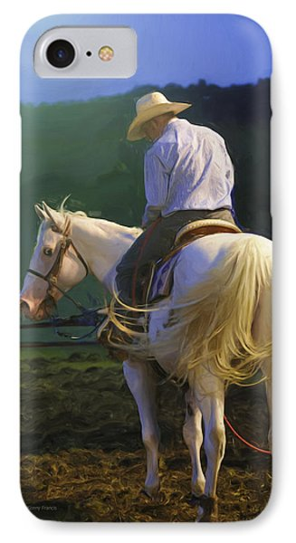 Into The Light IPhone Case by Kenny Francis