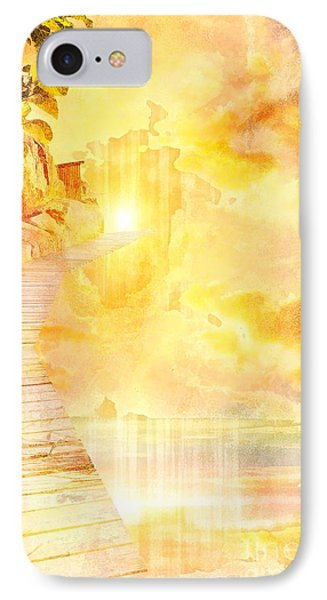 Into The Light Phone Case by Liane Wright