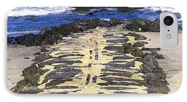 Into The Sea Phone Case by Colleen Kammerer