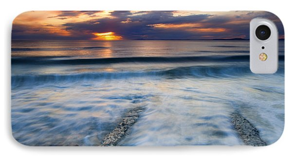 Into The Sea IPhone Case by Mike  Dawson
