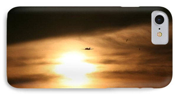 IPhone Case featuring the photograph Into The Sun by David S Reynolds