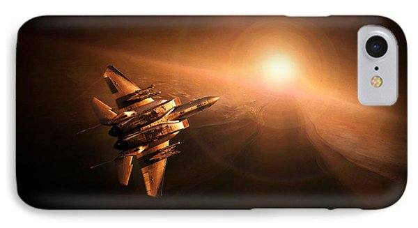 Into The Sun IPhone Case by Peter Van Stigt