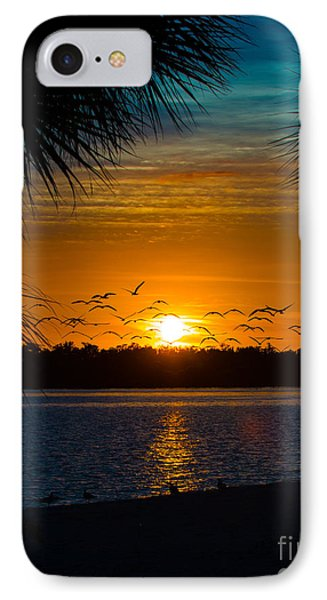 Into The Sunset Phone Case by Anne Kitzman