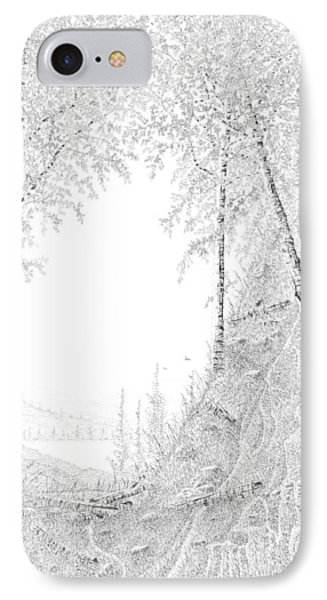 Into The Valley IPhone Case by Carl Genovese