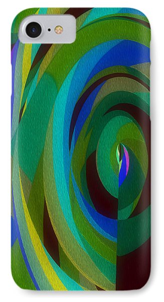 Into The Void IPhone Case by Mary Machare