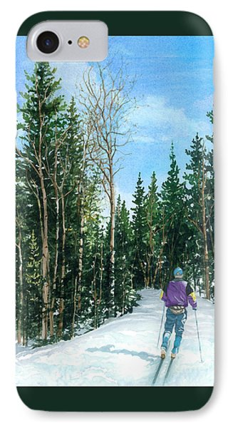 Into The Woods IPhone Case by Barbara Jewell