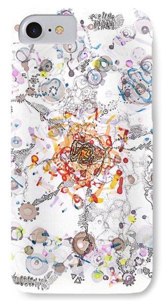 Intracellular Diversion IPhone Case by Regina Valluzzi