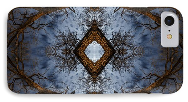 Intricate Eye In The Sky IPhone Case