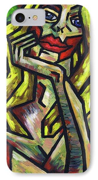 Intrigued Phone Case by Kamil Swiatek