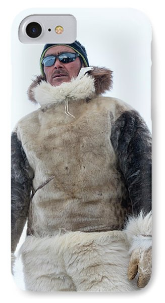 Inuit Hunter IPhone Case