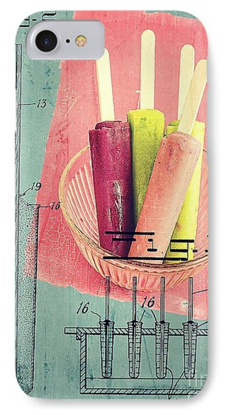Invention Of The Ice Pop IPhone Case by Edward Fielding