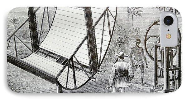 Inventor John Ericsson's Machine IPhone Case by Universal History Archive/uig