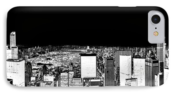 Inverted Central Park View IPhone Case by Az Jackson