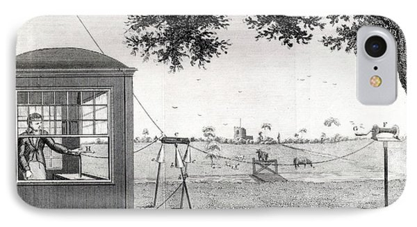 Investigating Atmospheric Electricity IPhone Case by Universal History Archive/uig