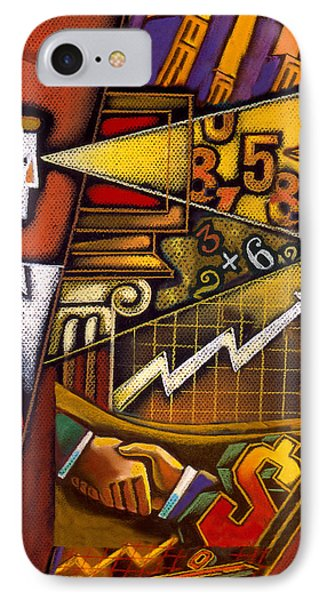 Investor IPhone Case by Leon Zernitsky