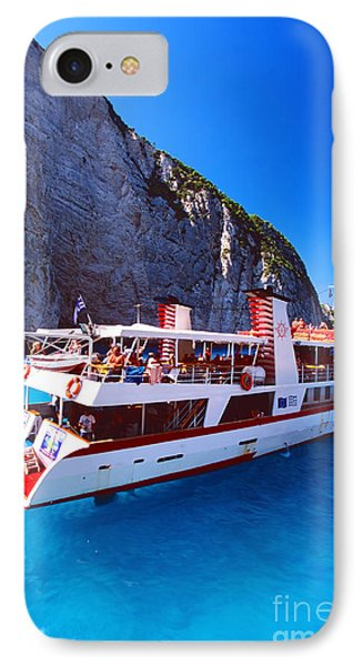 Ionian Sea Cruise IPhone Case by Aiolos Greek Collections
