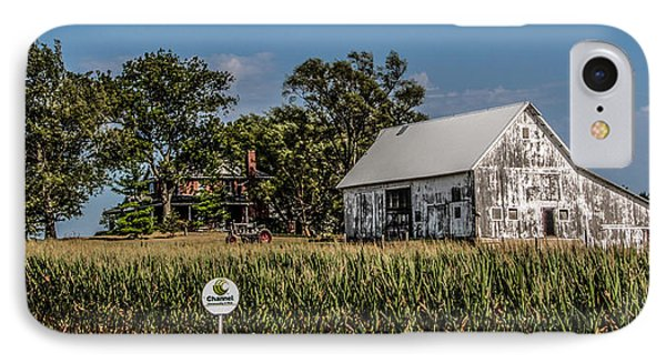 IPhone Case featuring the photograph Iowa Farm by Ray Congrove