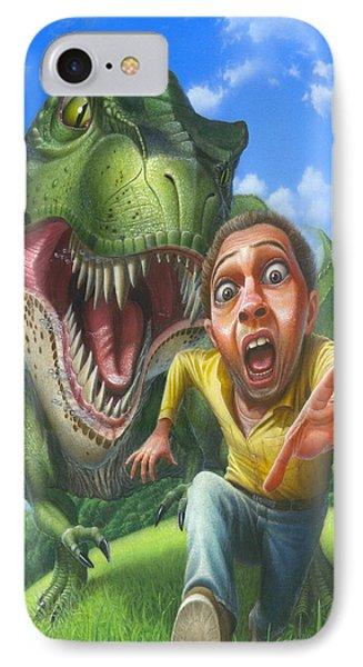 iPhone - Galaxy Case - Tyrannosaurus Rex Jurassic Park Dinosaur - T Rex - T-Rex IPhone Case
