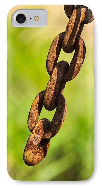 iPhone Case - Rusty Chain IPhone Case
