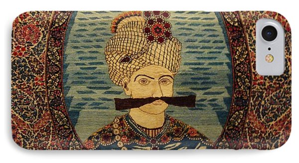 Iran King Abbas Carpet Museum Tehran Phone Case by Lois Ivancin Tavaf
