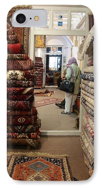 Iran Persian Carpets Phone Case by Lois Ivancin Tavaf