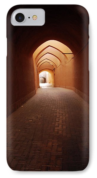 Iran, Yazd, Covered Alley In The Old IPhone Case by Stephanie Rabemiafara