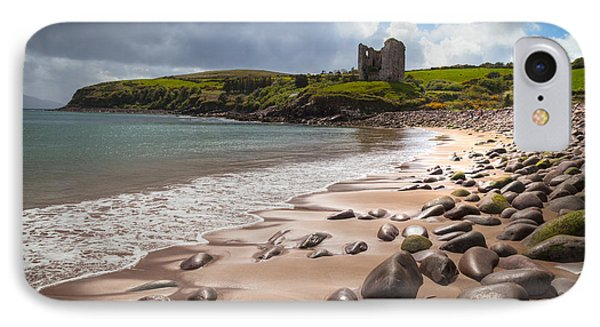 Ireland - Castle Minard IPhone Case by Juergen Klust