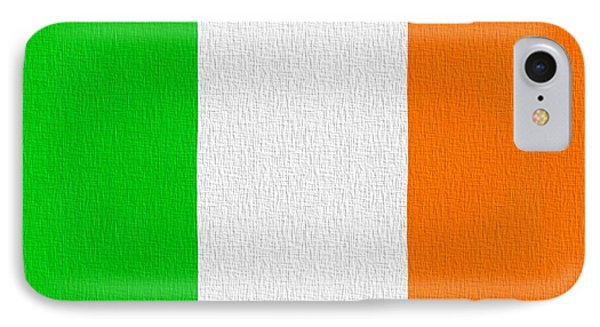 Ireland Flag Phone Case by Dan Sproul