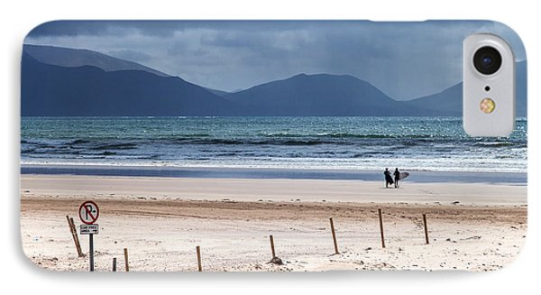 Ireland - Inch Beach IPhone Case by Juergen Klust