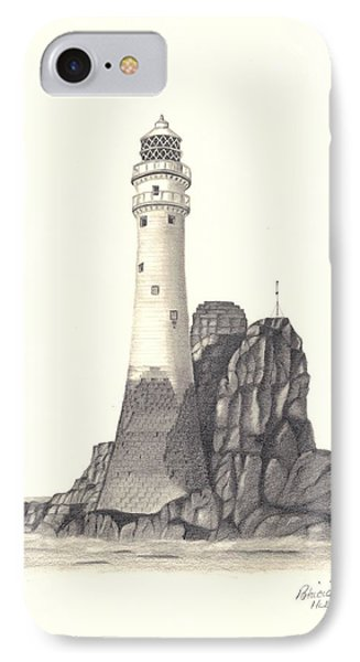 Ireland Lighthouse IPhone Case by Patricia Hiltz