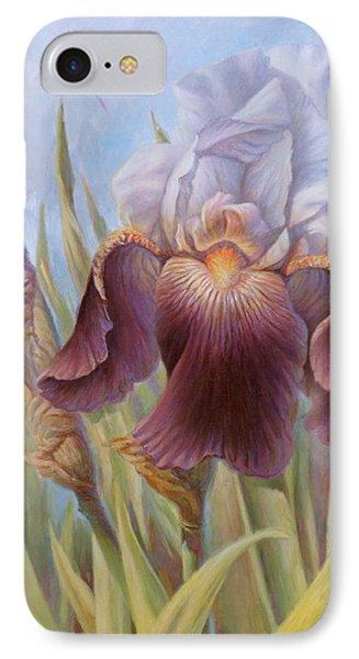 Iris 1 IPhone Case by Hans Droog