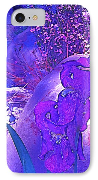 IPhone Case featuring the photograph Iris 2 by Pamela Cooper