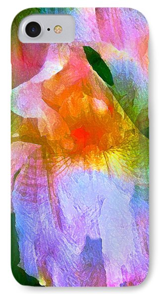 Iris 53 Phone Case by Pamela Cooper