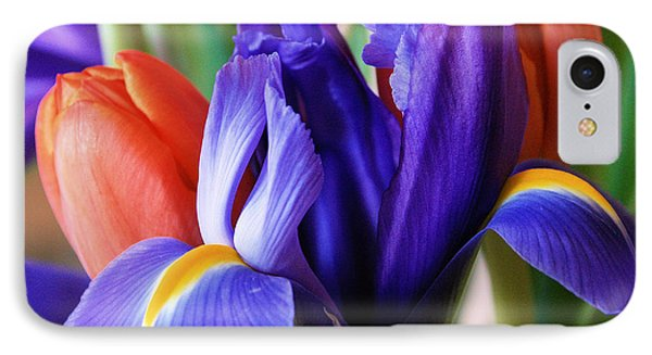 Iris And Tulips IPhone Case