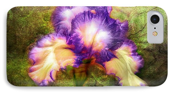 Iris Beauty IPhone Case by Lilia D