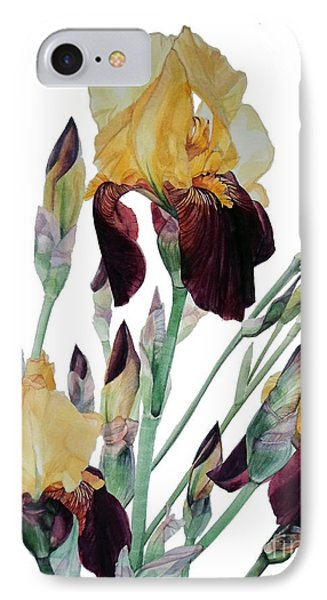 Iris Beethoven Romance In Fa Major IPhone Case by Greta Corens