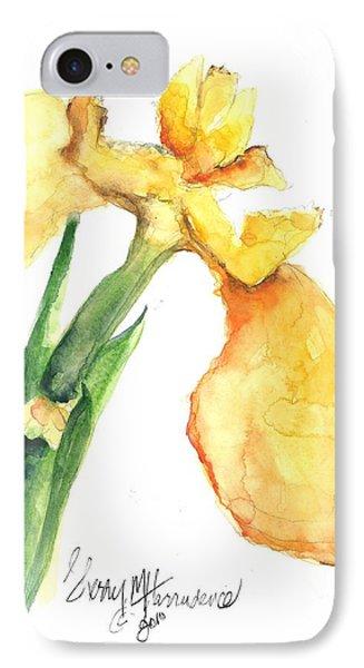Iris Blooms  Phone Case by Sherry Harradence