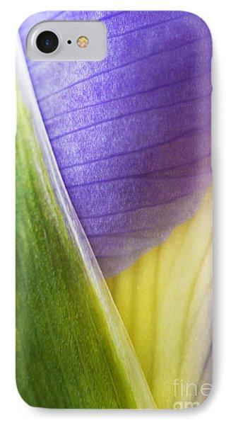 Iris Flower Close Up Phone Case by Natalie Kinnear