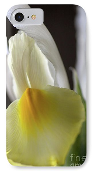 IPhone Case featuring the photograph Iris Flower by Joy Watson
