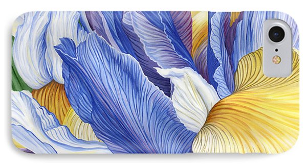 IPhone Case featuring the painting Iris by Jane Girardot