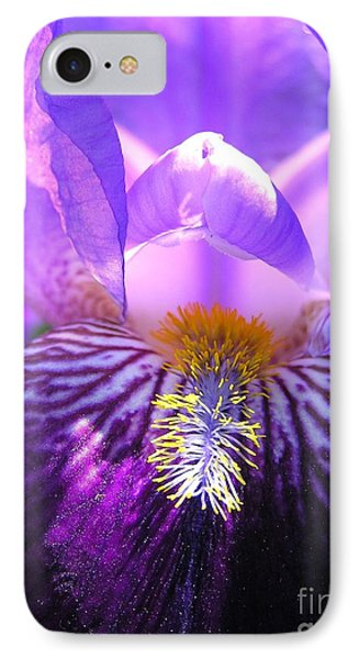 Iris Light IPhone Case by Susan  Dimitrakopoulos