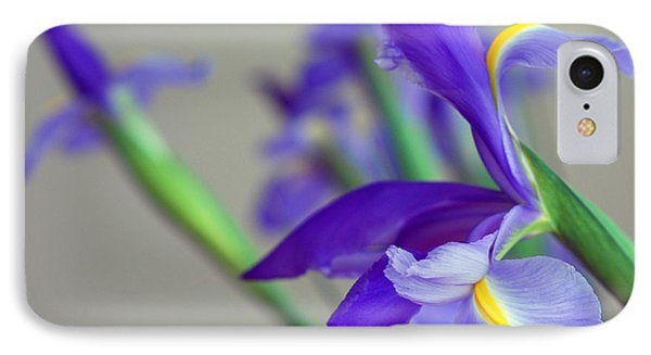 IPhone Case featuring the photograph Iris by Lisa Phillips