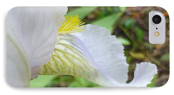 Iris Macro 2 IPhone Case by Claudia Goodell
