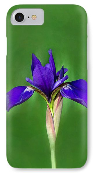 IPhone Case featuring the digital art Iris by Marion Johnson