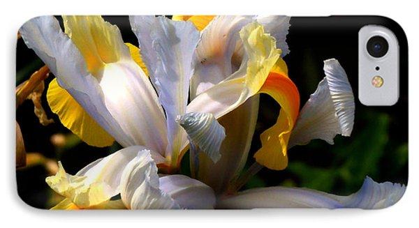Iris IPhone Case by Rona Black
